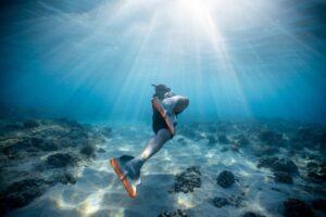 holde vejret under vand længere